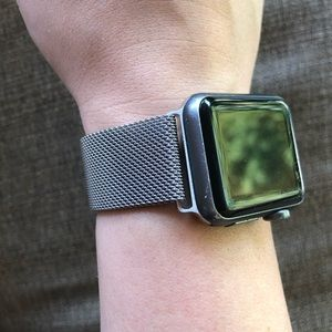 Apple Watch 38mm STRAP ONLY Chain material Magnet